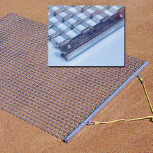 Baseball Infield All Steel Drag Mat and Drag Bar 6-feet x 3-feet