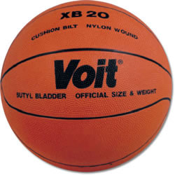 Voit XB 20 Cushioned Basketball Men's Size