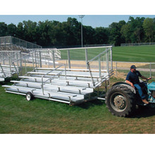 Transportable Bleachers 5 Row 58 Seats Deluxe Design