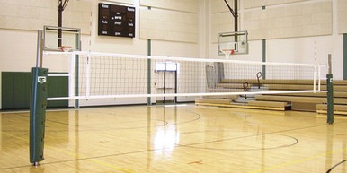 Gared Sports Collegiate One-Court Volleyball System, Less Sleeve