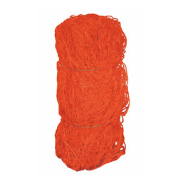 Alumagoal Playmaker Net Orange 8'H x 24'W x 5'D x 10'B - Pair