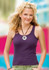 District Threads® Junior Ladies' Tank DT203