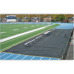 Bench Zone Sideline Track Protector 75ft