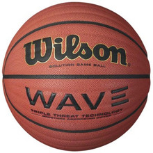 Wilson NCAA Wave Basketball Intermediate Size 28.5""