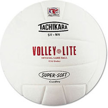 Tachikara Volley-Lite White Volleyball