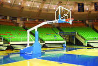 Gared Sports ProS 8' NFHS NAIA NCAA NBA Portable Basketball System