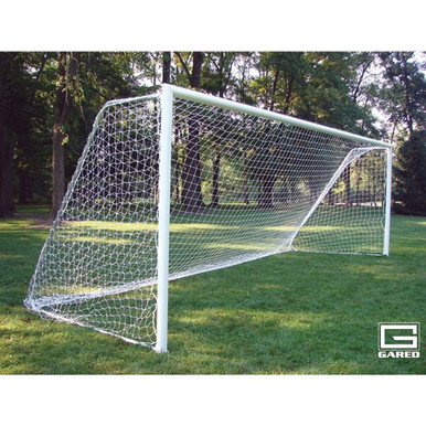 All-Star II Touchline™ Soccer Goal, 8' X 24', Portable, Round Frame (Pair)