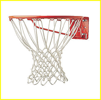 "Basketball Net, 7mm Deluxe ""Pro"" Net, Non-Whip, CS-417"