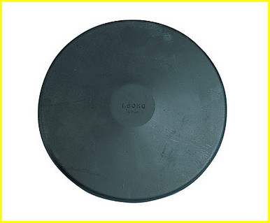 Champion Sports 1 Kilo Rubber Practice Discus, CS-1.0KR