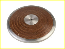 Champion Sports 1 Kilo Competition Wooden Discus, CS-1.0KW