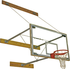 "Spalding 3-Point Wall Basketball Mount (24""-40""), AA-302-725"