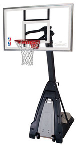 "Spalding  ""The Beast"" Portable 54"" Glass Basketball System ***BACK ORDER UNTIL MAY***"
