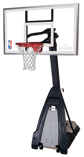 """Spalding  """"The Beast"""" Portable 54"""" Basketball System"""