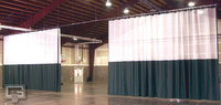 Gared Sports 4013 Walk-Draw Gym Divider Curtain