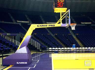 """Gared Pro H Portable Basketball System, 10' 8"""" Extension"""