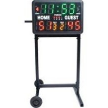 Wheeled Stand for Portable Scoreboard