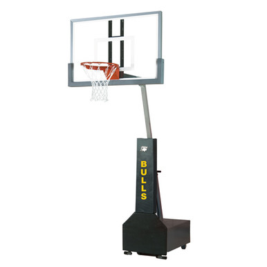 Bison Super Club Court Portable Basketball System