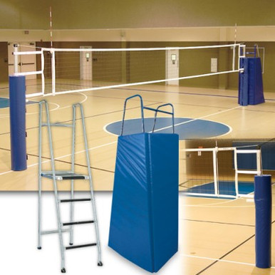 Alumagoal Telescopic Aluminum Volleyball System