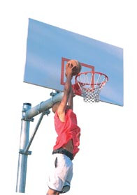 Spalding Enforcer Basketball Pole
