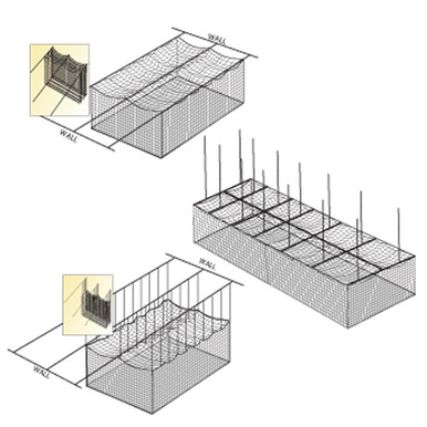 Ceiling Cage Net Suspension Kit
