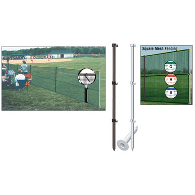 Outfield Fencing Pack w/Smart Pole Set 1