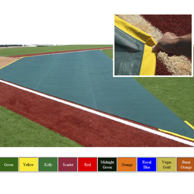 Wind Weighted Infield Protector 20'W x 20'D x 60'L