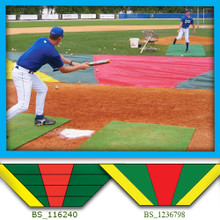 Bunt Zone Infield Protector/Trainer-Lg