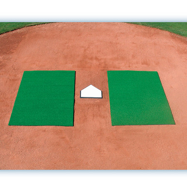 DiamondTurf Batter's Mats 4' x 6'