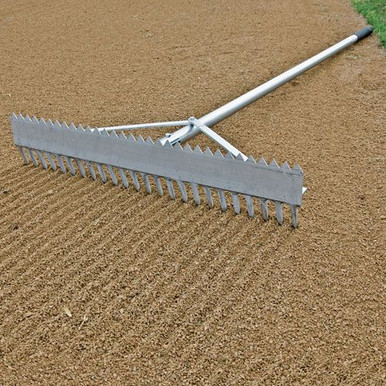 Double-Play Rake - 36""