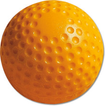 "MacGregor 9"" Yellow Dimpled Baseball (dozen)"