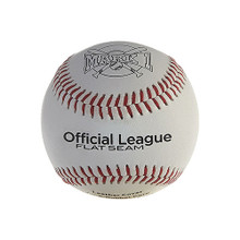 Mark 1 Official League Flat-Seam Baseballs (12-Pack)