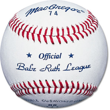 #74 Official Babe Ruth Baseball-dozen