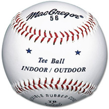 MacGregor #56 Official Indoor/Outdoor Tee Balls (12-Pack)