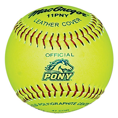 "MacGregor Pony Approved 11"" Softball"