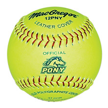 MacGregor Pony Approved 12'' Softball