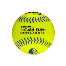WorthT Super Gold Dot Classic 12 in. Slow-Pitch Softballs