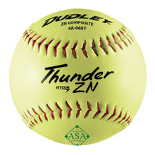 Dudley Thunder HyCon ZN 12 in. ASA Slow-Pitch Softballs (12-Pack)