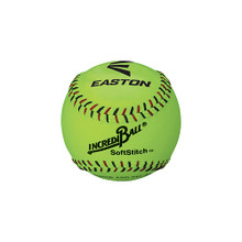 "Easton 11"" SoftStitch IncrediBall 12 pack-Yellow"