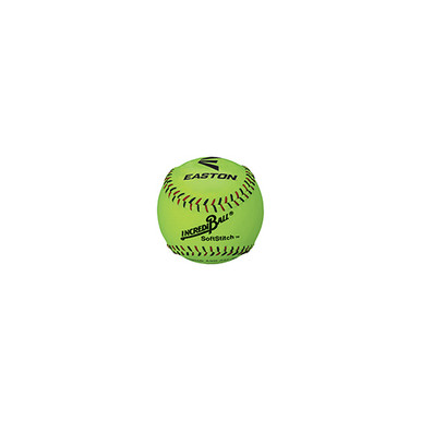 "Easton 12"" SoftStitch IncrediBall 12 pack-Yellow"