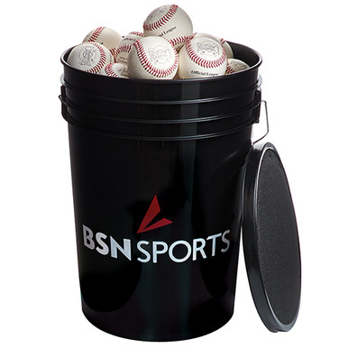 BSN SPORTS Bucket with 36 Official League Baseballs