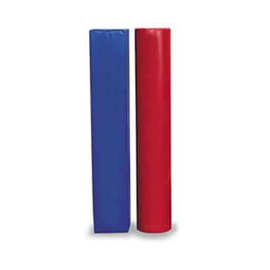 "Post Pad Fits 4-1/2""-6"" OD Post Red/Blue"