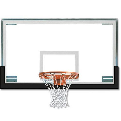 Spalding Superglass™ Collegiate Basketball Backboard Package