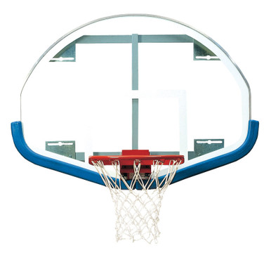 Bison Fan-Shaped Basketball Backboard - Board Only