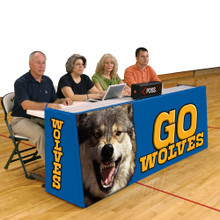 Bison 8' Sport Pride Scorers Table - Floor Model