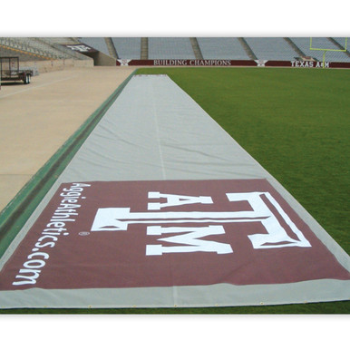 Bench Zone 75' Sideline Turf Tarp