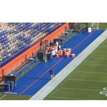 Bench Zone Sideline Turf Protector - Custom Size