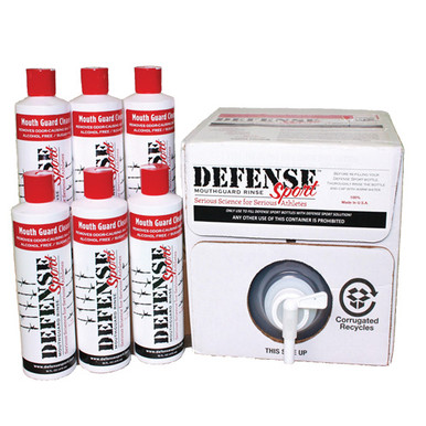 Defense Sport Mouthguard Rinse Team Pack