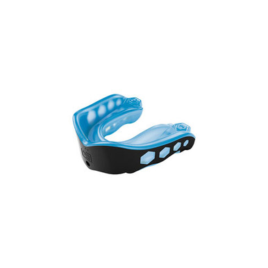 Gel Max Adult Conv Mouthguard-Blue/Bk EA 1