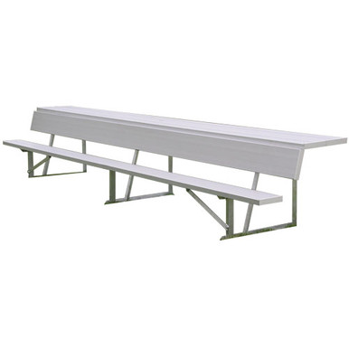 21' Players Bench w/ Shelf