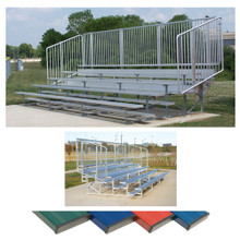 4 Row 15' Vertical Picket Bleacher 3